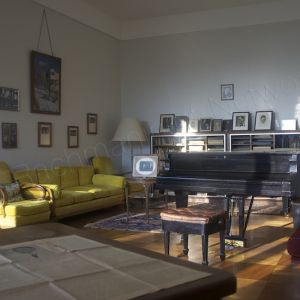 In Villa Senar near Lucern, Sergei Rachmaninoff's pianostudio in its current state with many personally dedicated photo portraits